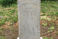 James Clark after first cleaning.  D/2 Biological is great stuff!